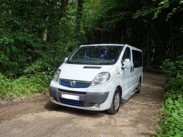 Vauxhall Vivaro camper conversion