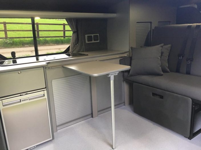 Camper van conversion Vivaro