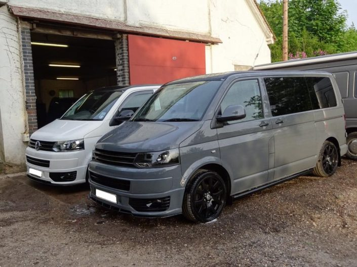 VW T5 privacy tint window fitting
