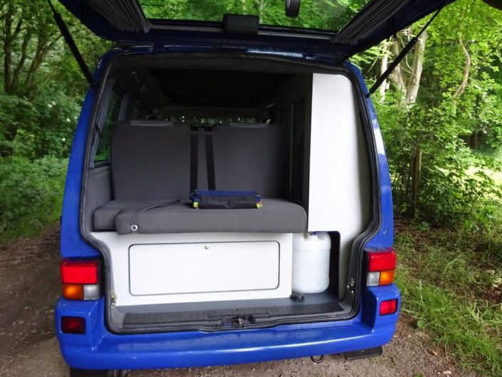 VW T4 Transporter camper conversion