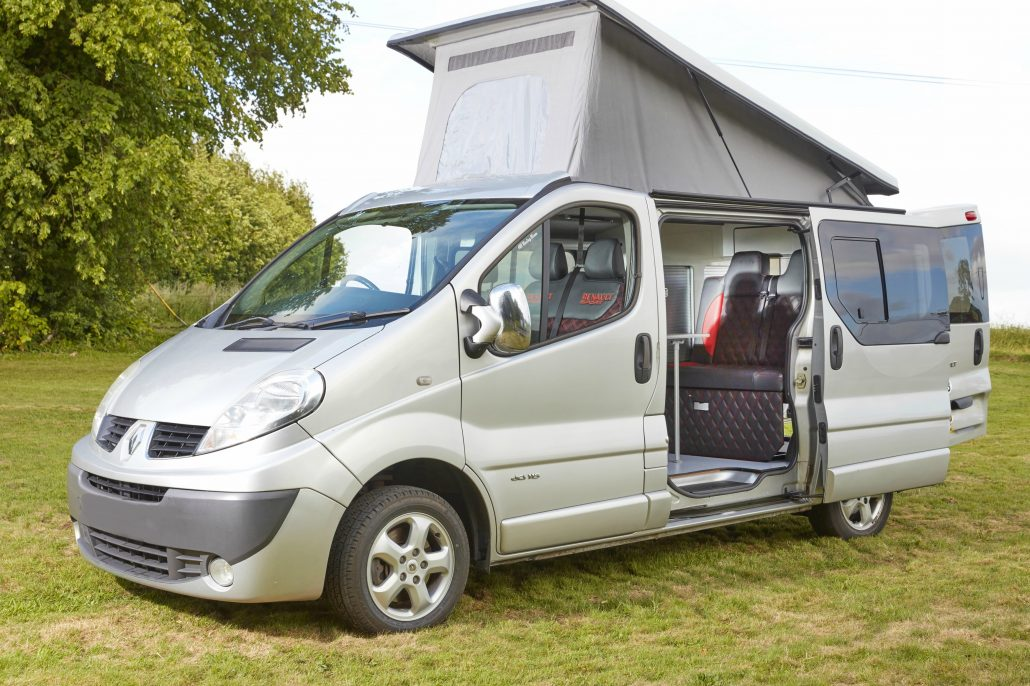 renault trafic salisbury camper conversions. Black Bedroom Furniture Sets. Home Design Ideas