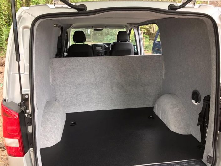 Bespoke Removable Bulkhead Vito