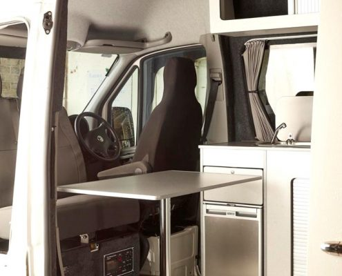 VW Crafter LWB Camper Conversion