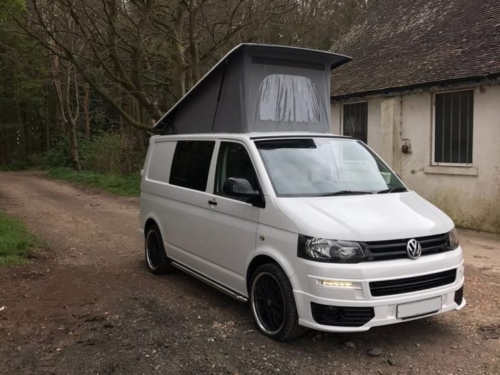 VW Pop top elevated roof